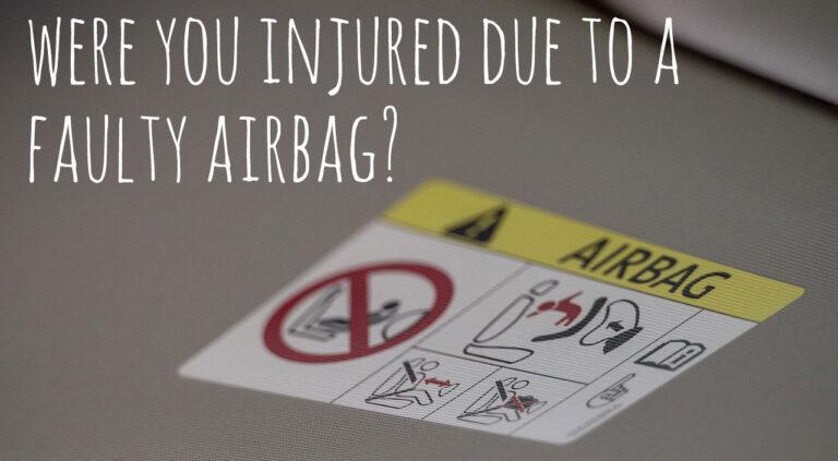 faulty air bag