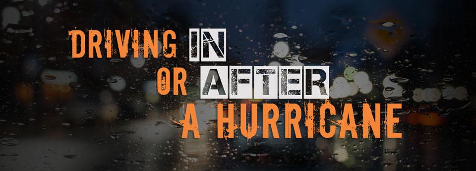 hurricane driving